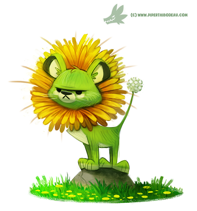 daily_painting__966__dande_lion__og__by_cryptid_creations-d91cd3v