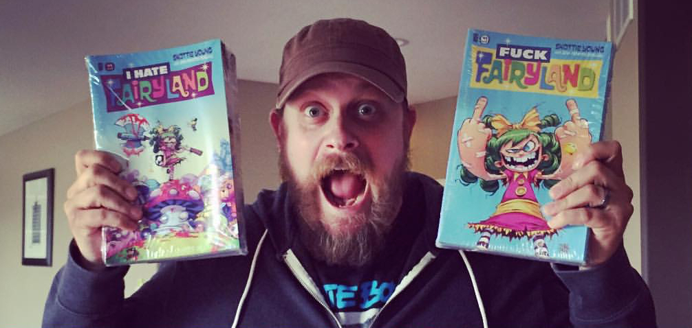Excited Skottie Young I Hate Fairland Books