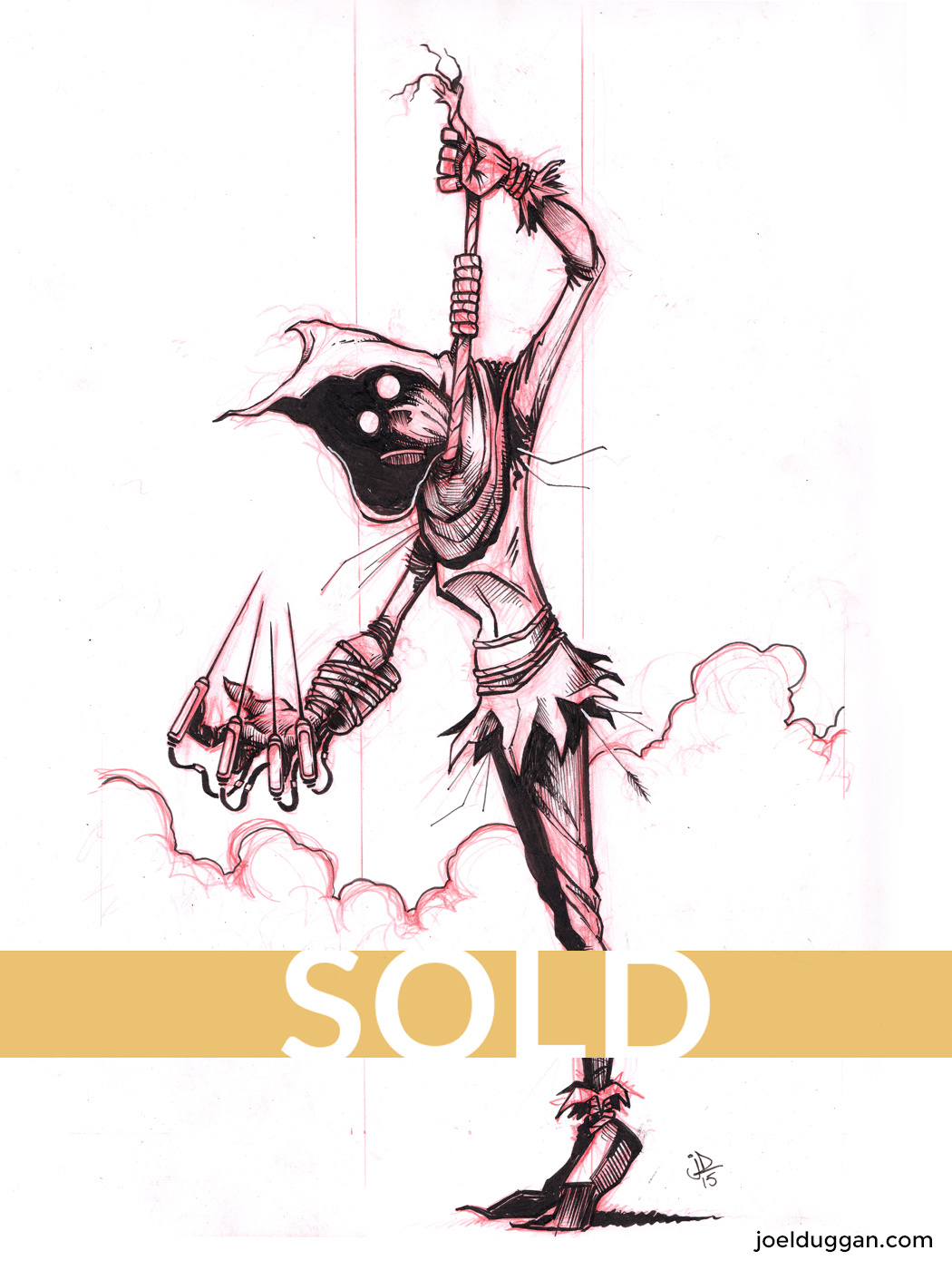 Inktober-2015-10-03-Scarecrow-Inks-1400-web-SOLD